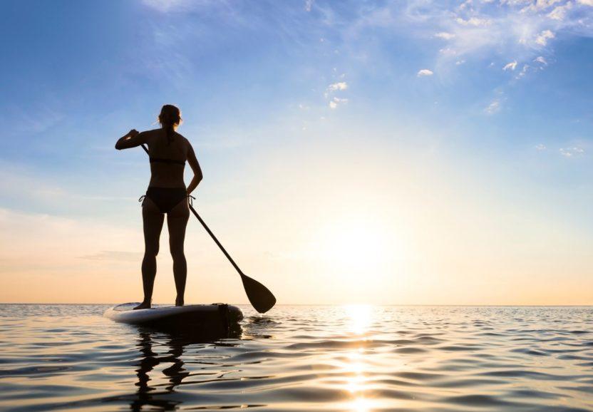 Как выбрать весло для SUP доски