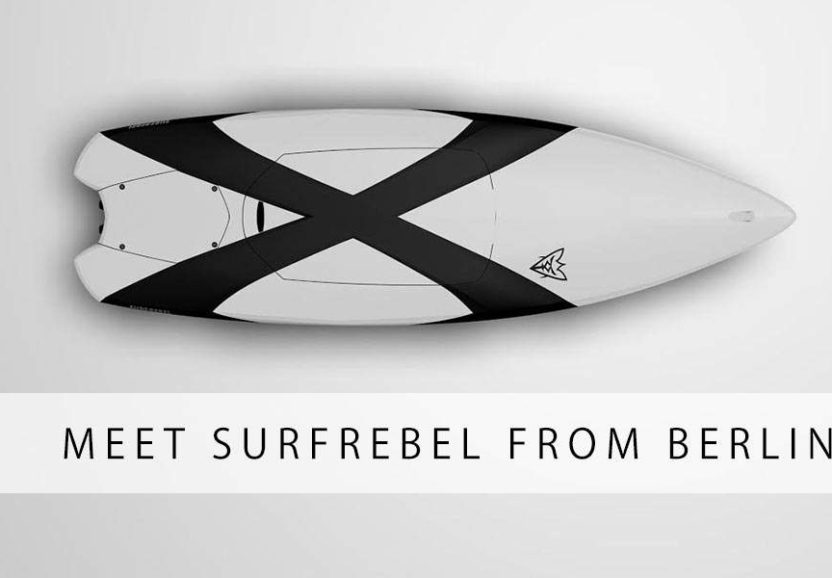 SURFREBEL – motorized electric surfboard