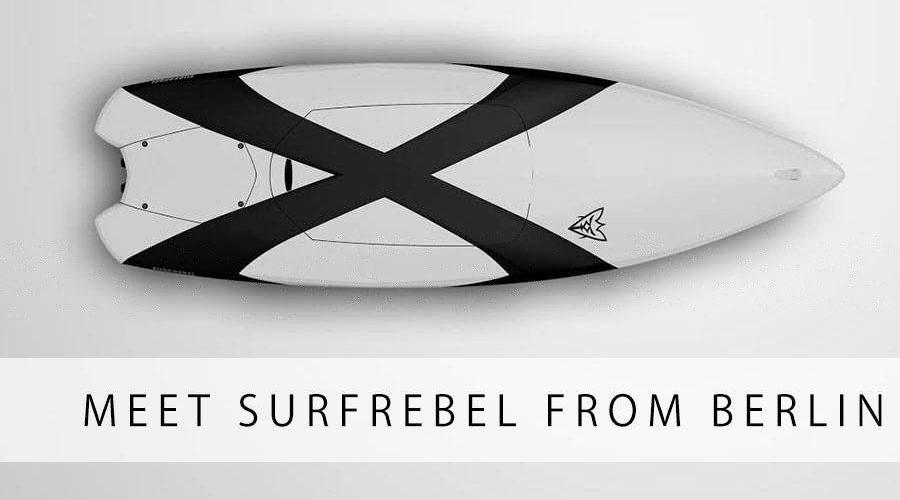 SURFREBEL – моторизированная электрическая доска для серфинга