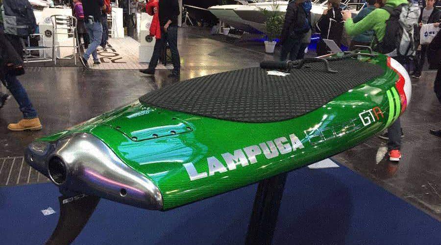 Lampuga Boost GTR — на яхтенной выставке в Дюссельдорфе