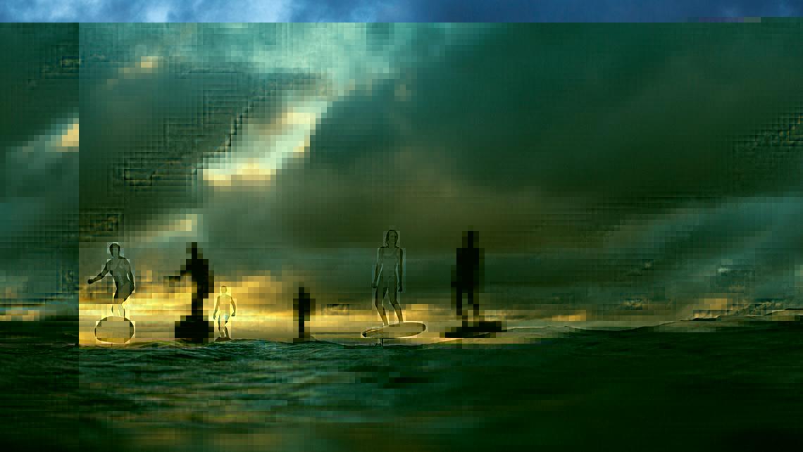 electro surf board hydrofoil