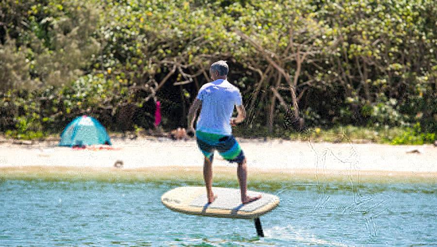 Fliteboard rider