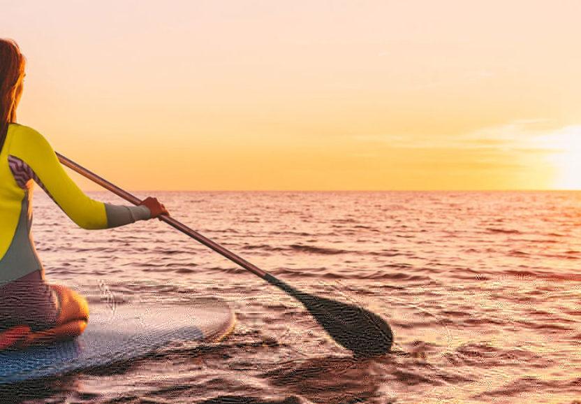 Как плавать на САП доске – техника управления
