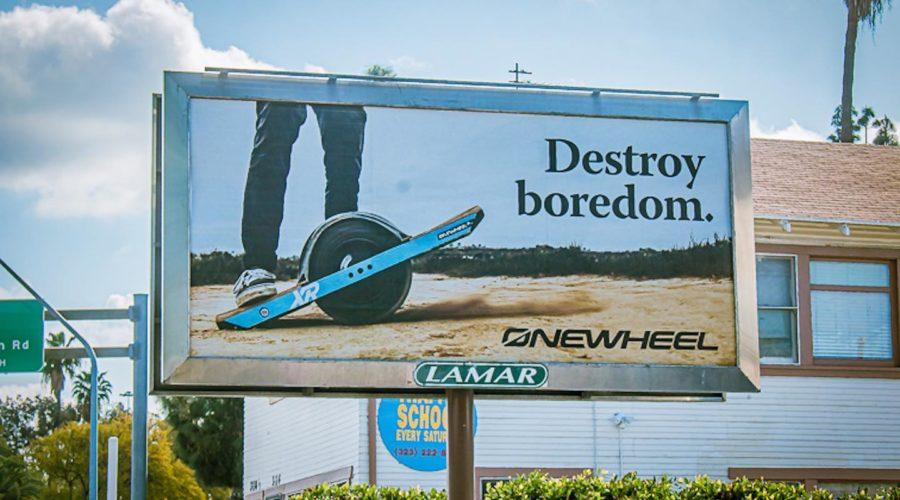 Сёрфинг на земле — Onewheel
