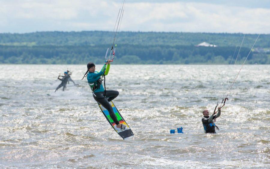 обучение кайтсерфингу на Плещеевском озере